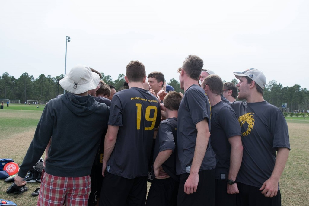Men's Ultimate Team Huddle 2016